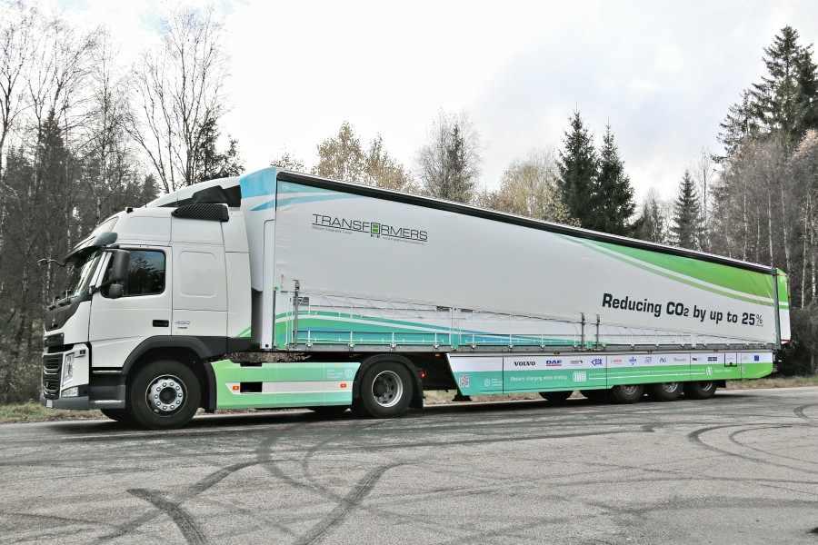 Schmitz Cargobull Transformer - Objetivo, reducir las emisiones de CO2