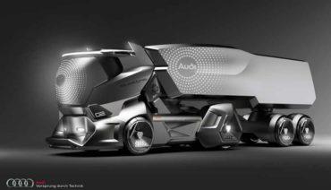 Audi HMV Concept o como podrían y deberían ser los camiones del futuro
