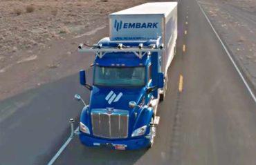 La conducción autónoma de camiones, ha llegado para quedarse