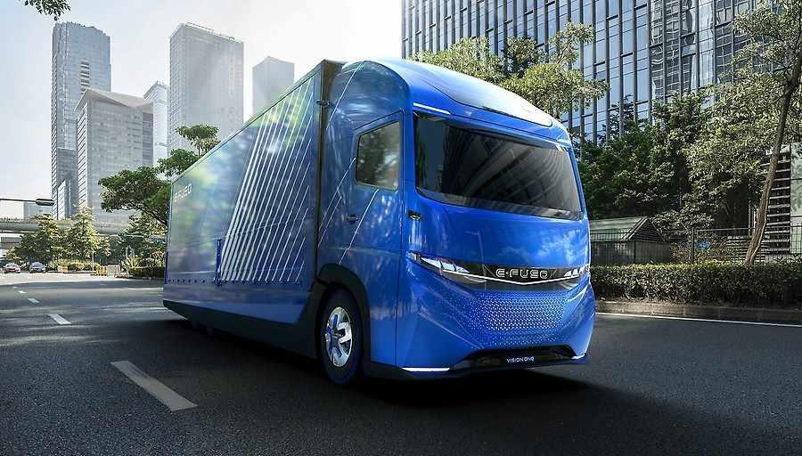Daimler E-FUSO Vision One, un nuevo camión eléctrico de futuro.