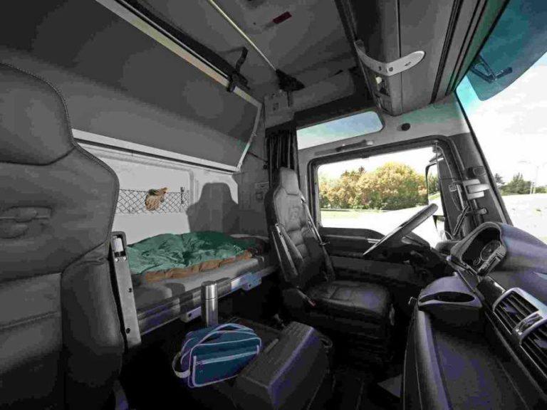 El descanso semanal en cabina sancionado en España a partir del 1 de julio