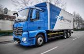El camión electrico Mercedes-Benz eActros, empieza a ser entregado