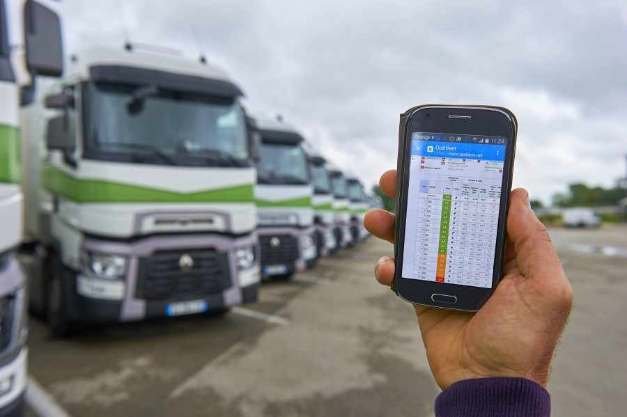 Renault Trucks Optifleet - La App de gestión de flotas