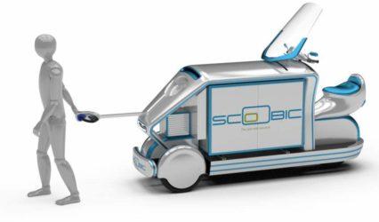 Scoobic: el vehículo electrico que revolucionará el reparto en las ciudades