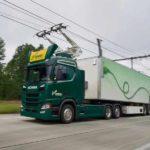 Las carreteras eléctricas para camiones llegarán a Alemania en 2019