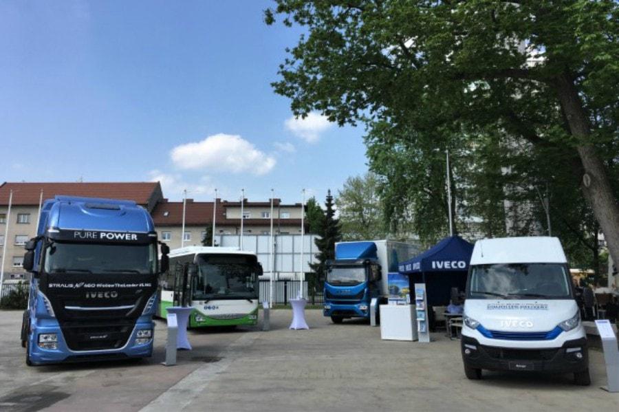Iveco presenta en Ten-T su gama de vehículos de gas natural