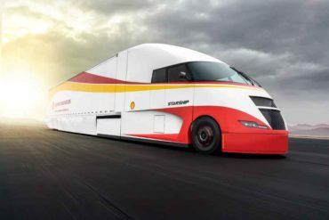 Starship, el camión híbrido rompe récords de consumo