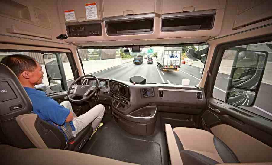 Hyundai Xcient - Primeras pruebas del camión de conducción autónoma