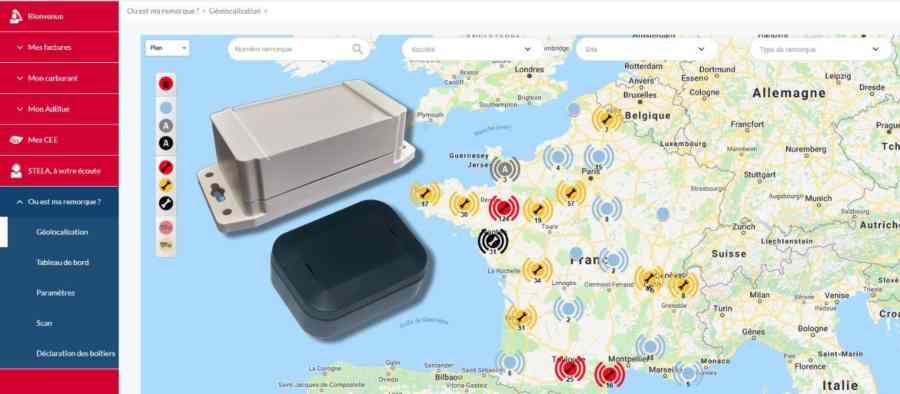 TOTAL y Sigfox lanzan una solución para monitorizar flotas de camiones en tiempo real con tecnología IoT