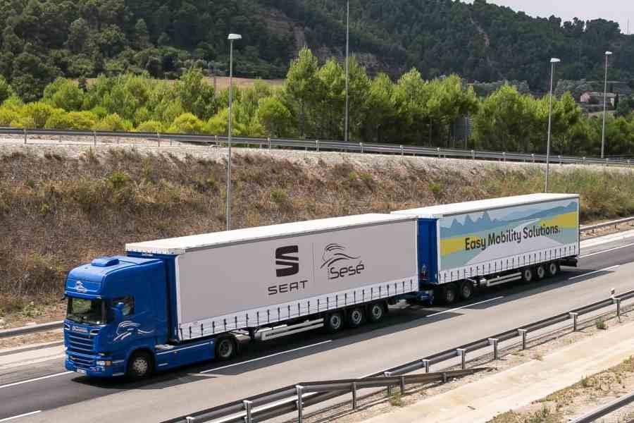 Duotrailer, el camión más grande y eficiente que circula en Europa