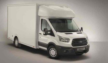 Nueva Ford Transit chasis cabina