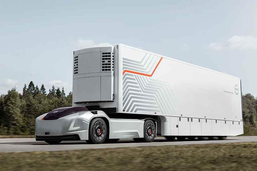 Volvo Trucks VERA - O como podrán ser los camiones del futuro
